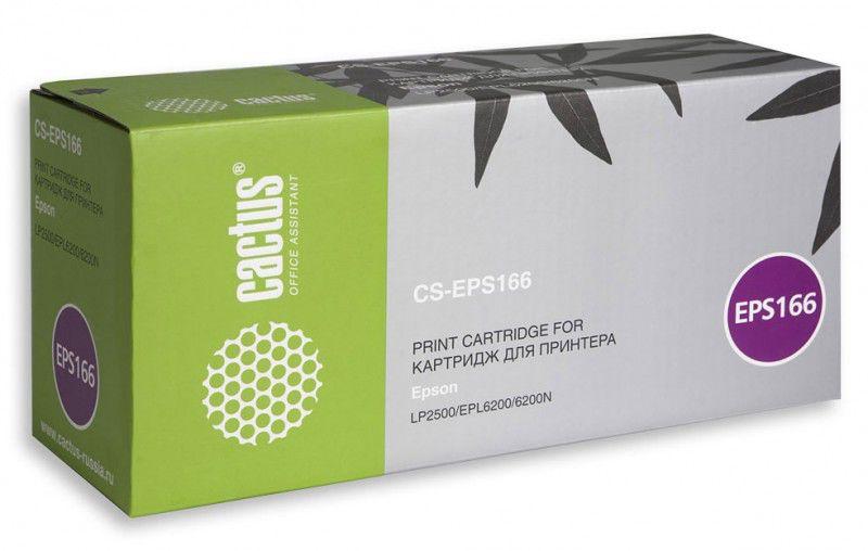 Картридж CACTUS CS-EPS166 черный