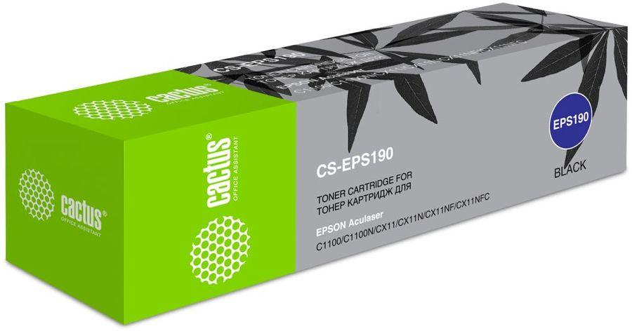 Картридж CACTUS CS-EPS190 черный