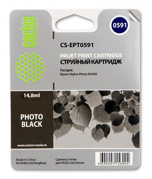 Картридж CACTUS CS-EPT0591, черный