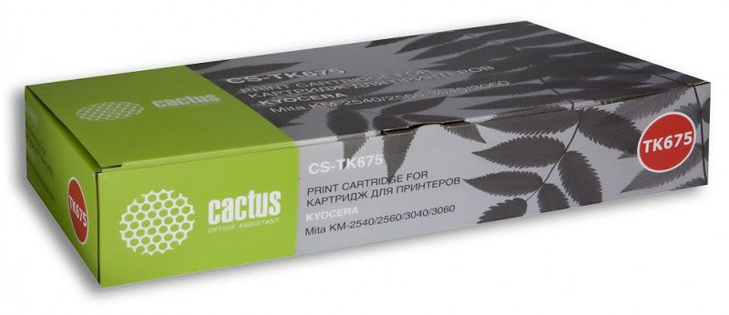 Картридж CACTUS CS-TK675 черный