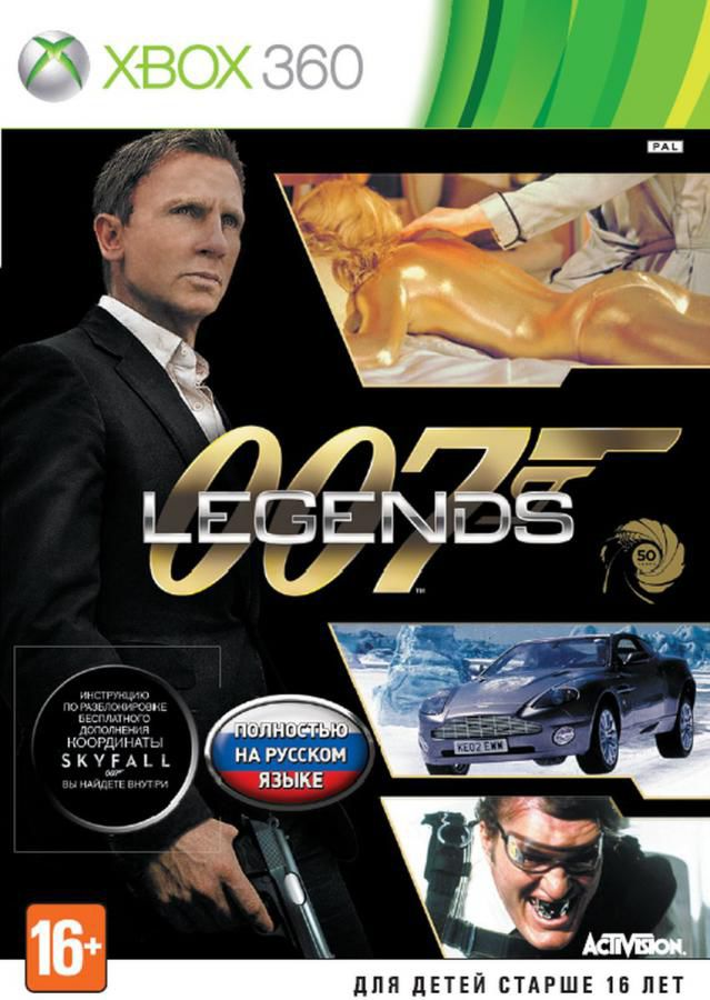 Игра MICROSOFT 007 Legends для  Xbox360 Rus