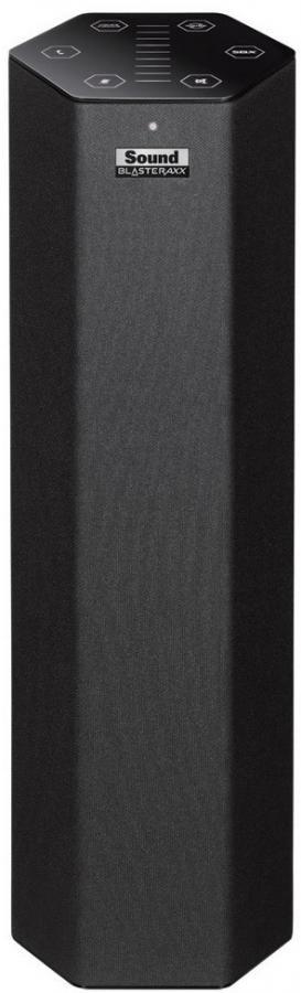 Портативные колонки CREATIVE Sound Blaster Axx SBX 10,  черный [70sb139000000]