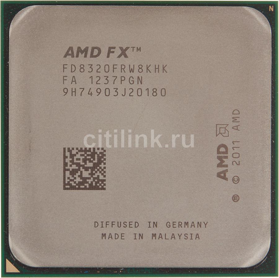 Процессор AMD FX 8320, SocketAM3+ OEM [fd8320frw8khk]
