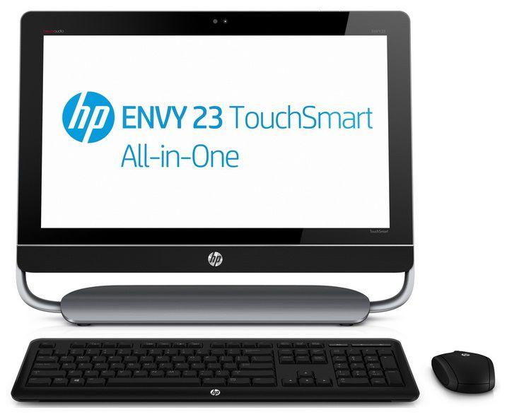 Моноблок HP ENVY 23-d007er, Intel Core i3 3220, 4Гб, 2Тб, AMD Radeon HD 7450A - 1024 Мб, DVD-RW, Windows 8, черный и серый [c3t50ea]