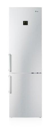 Холодильник LG GW-B499 BAQW,  двухкамерный,  серебристый [gw-b499baqw]