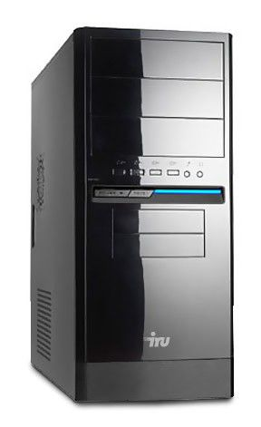 Компьютер  IRU Corp 310,  Intel  Core i3  2130,  DDR3 4Гб, 500Гб,  Intel HD Graphics 2000,  Windows 7 Professional,  черный