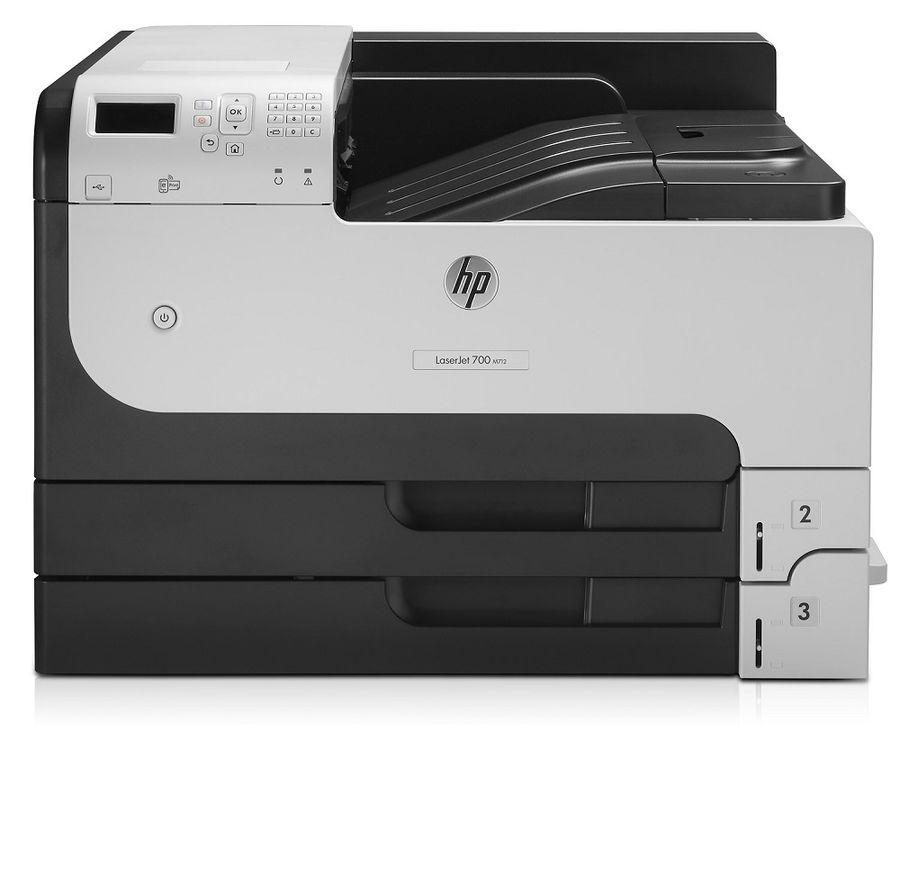 Принтер лазерный HP LaserJet Enterprise 700 M712dn лазерный, цвет:  белый [cf236a]