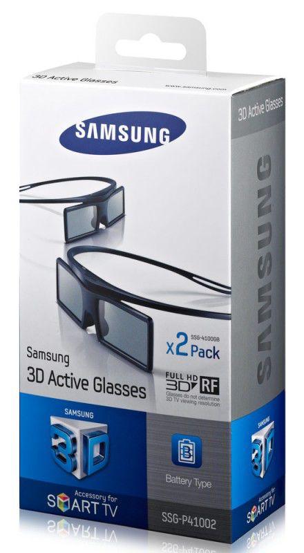 Очки 3D SAMSUNG SSG-P41002 + диск Double,  1 шт