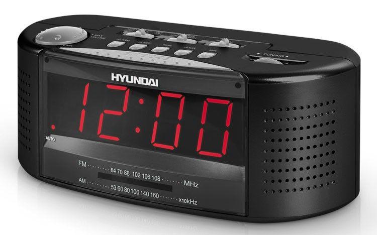 Радиобудильник HYUNDAI H-1510, черный