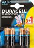 Батарея DURACELL Turbo MAX LR6-4BL,  4 шт. AA вид 1