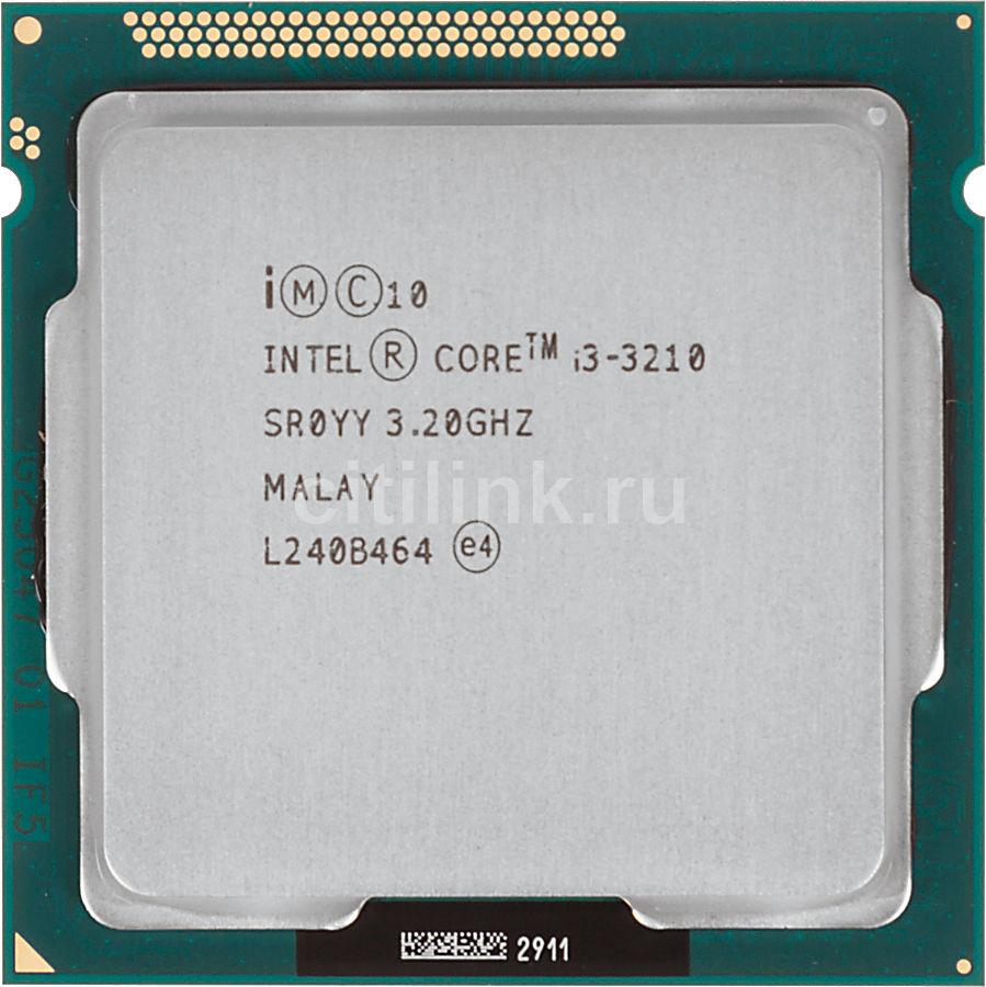 Процессор INTEL Core i3 3210, LGA 1155 OEM [cm8063701392300s r0yy]