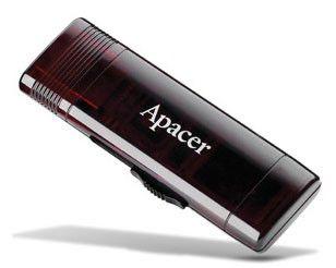 Флешка USB APACER AH351 8Гб, USB3.0, красный [ap8gah351r-1]