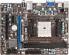 Материнская плата MSI FM2-A55M-E33 Socket FM2, mATX, bulk вид 1