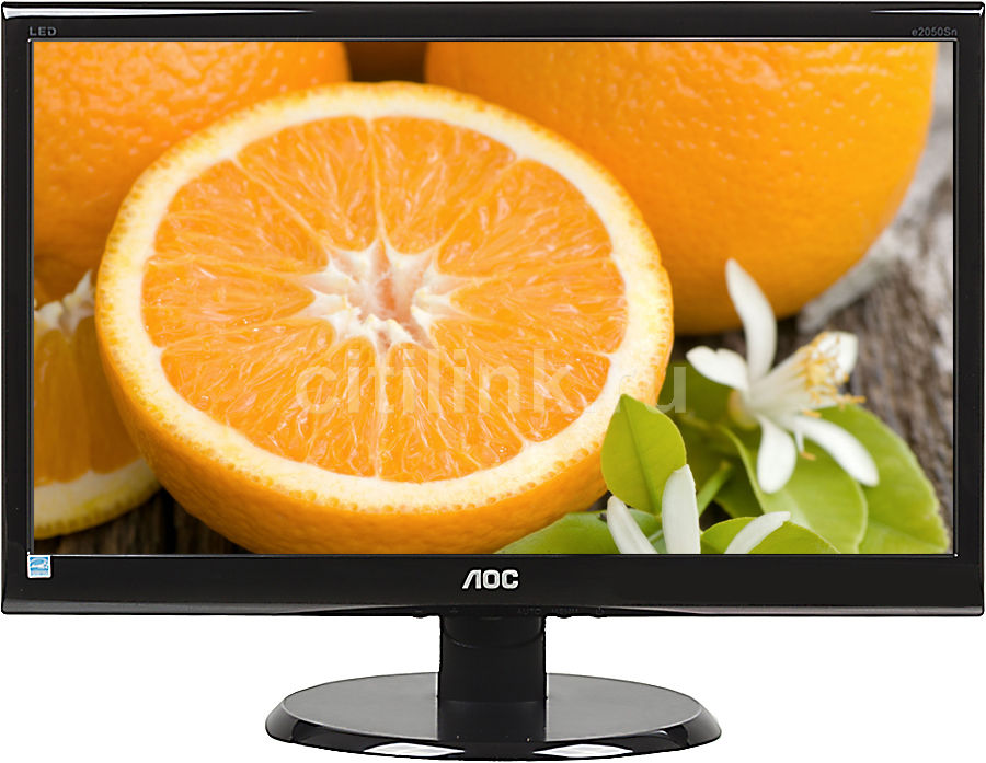 "Монитор ЖК AOC Value Line E2050SnK 20"", черный"
