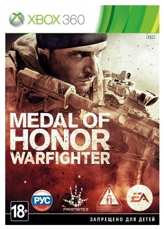 Игра SOFT CLUB Medal of Honor: Warfighter для  Xbox360 Rus