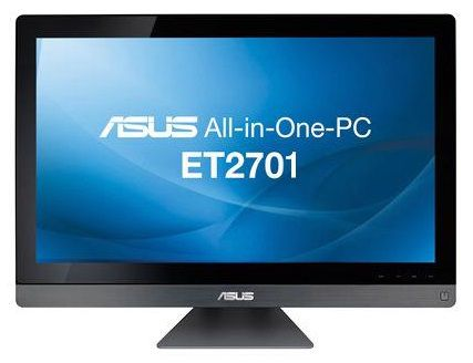 Моноблок ASUS ET2701INKI, Intel Core i3 3220, 4Гб, 1000Гб, nVIDIA GeForce GT640 - 2048 Мб, DVD-RW, Windows 8, черный [90pt00d1002000q ]