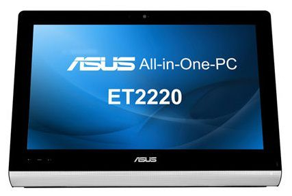 Моноблок ASUS ET2220IUTI, Intel Core i3 3220, 4Гб, 1000Гб, Intel HD Graphics 2500, DVD-RW, Windows 8, черный [90pt00g1000160q]