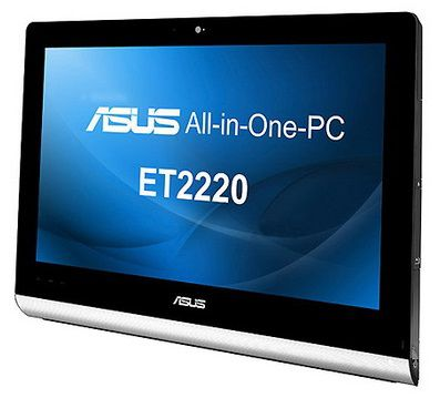 Моноблок ASUS ET2220INKI, Intel Core i3 3220, 4Гб, 1000Гб, nVIDIA GeForce 610M - 1024 Мб, DVD-RW, Windows 8, черный [90pt00g1000150q]