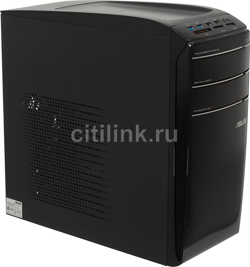 Компьютер  ASUS CM6870,  Intel  Core i5  3470,  DDR3 6Гб, 1000Гб,  nVIDIA GeForce GT630 - 2048 Мб,  DVD-RW,  CR,  Windows 8,  черный [90pd97db9341mcl0hckz ]