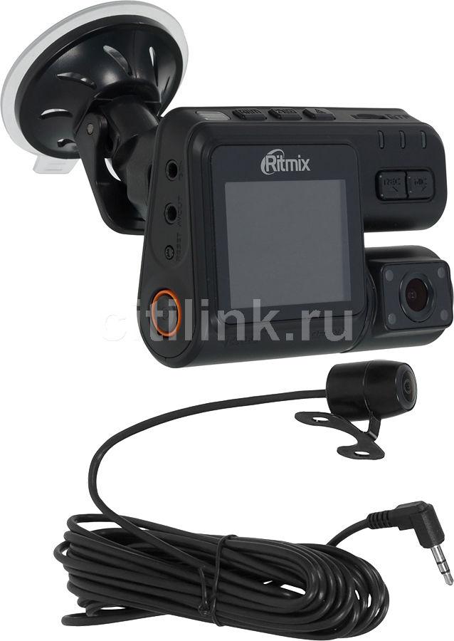 Видеорегистратор RITMIX AVR-750 черный