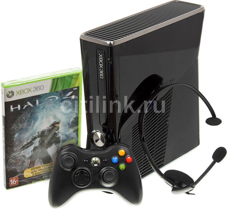 Игровая консоль MICROSOFT Xbox 360 R9G-00173, черный