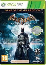 Игра MICROSOFT Batman Arkham Asylum. Game of the Year Edition (Classics) для  Xbox360 Rus (документация)