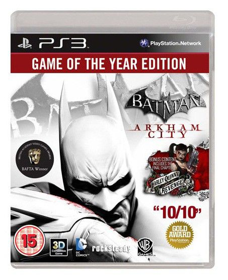 Игра SONY Batman: Arkham City. Game of the Year Edition для  PlayStation3 RUS (субтитры)