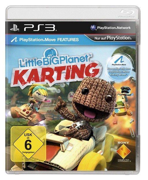 Игра SONY LittleBigPlanet Karting для  PlayStation3 Rus