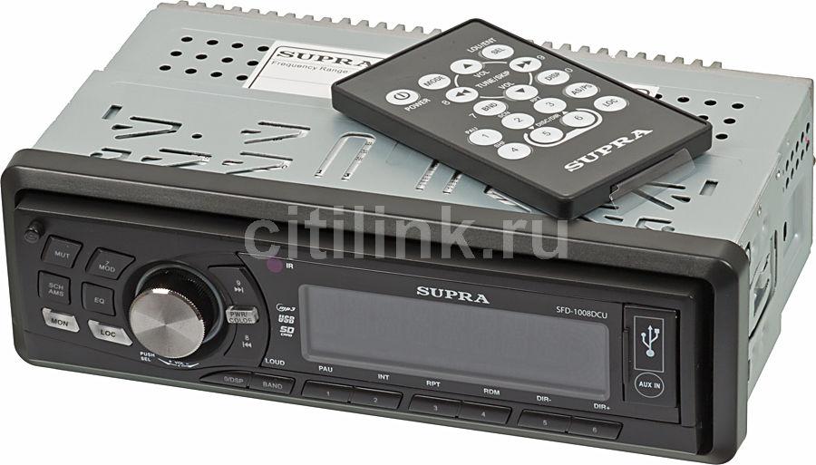 Автомагнитола SUPRA SFD-1008DCU,  USB,  SD