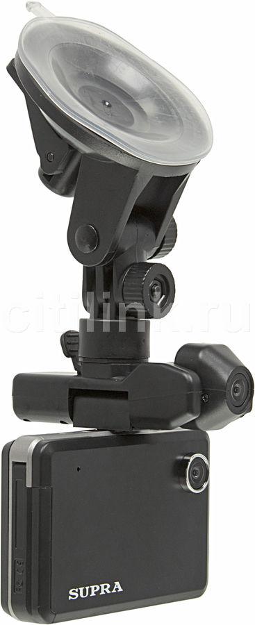 Видеорегистратор SUPRA SCR-710 черный