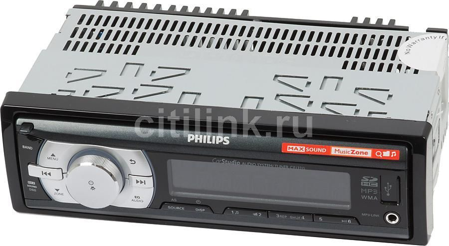 Автомагнитола PHILIPS CE132G/51,  USB,  SDHC