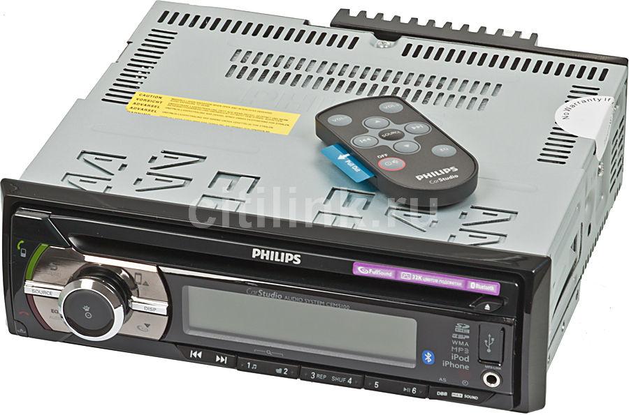Автомагнитола PHILIPS CEM5100/51,  USB,  SDHC
