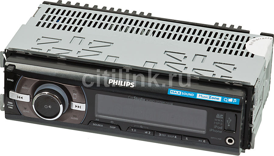 Автомагнитола PHILIPS CE138/51,  USB,  SDHC