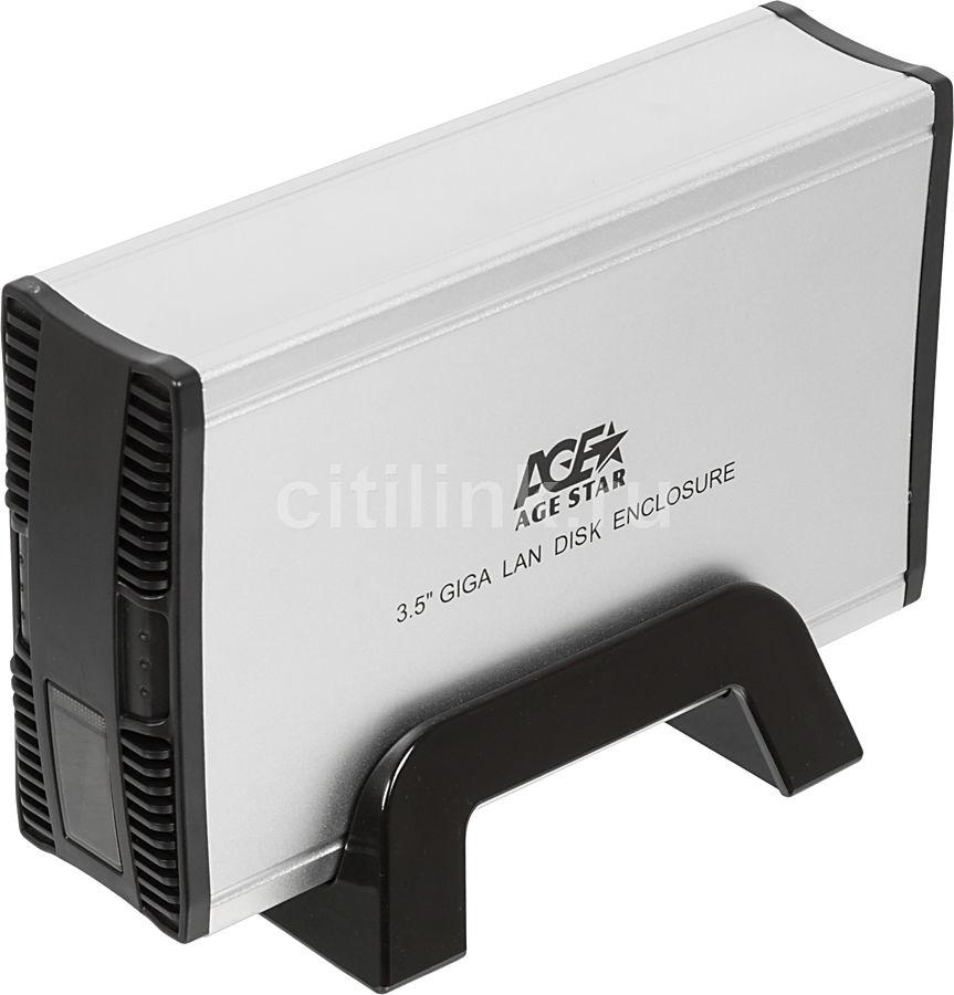 Внешний корпус для  HDD AGESTAR GNSB3AHT, серебристый