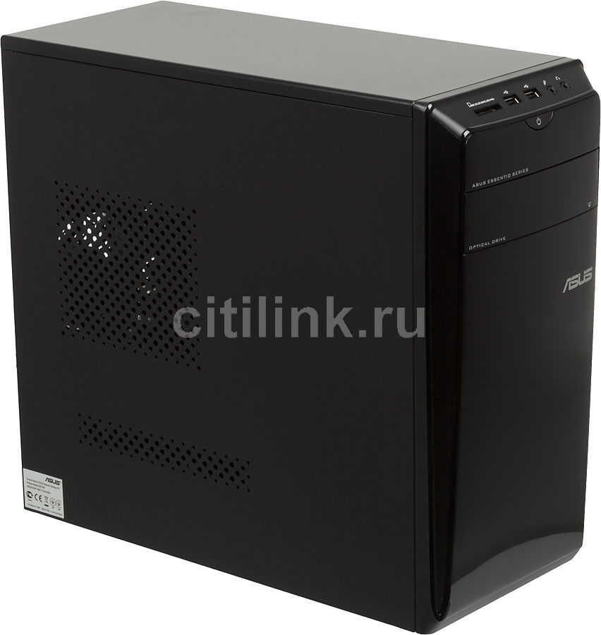 Компьютер  ASUS CM1740,  AMD  A6  3620,  DDR3 4Гб, 1000Гб,  AMD Radeon HD 7470 - 1024 Мб,  DVD-RW,  CR,  Windows 8,  черный [90pd79db43d2k5g03ckz ]