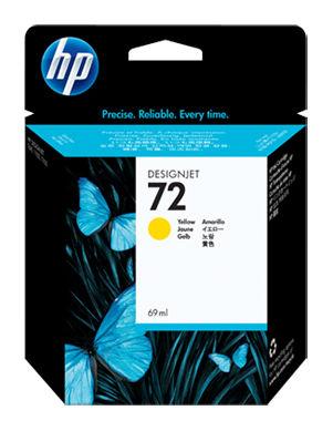 Картридж HP 72 желтый [c9400a]