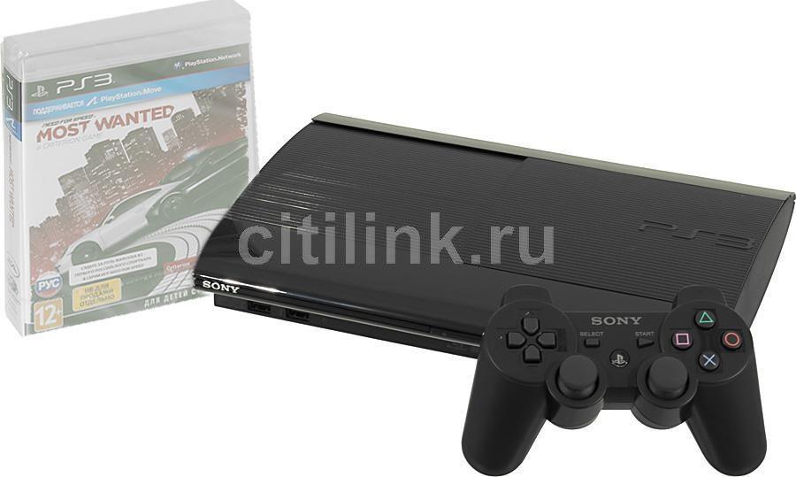 Игровая консоль SONY PlayStation 3 PS719284246, черный