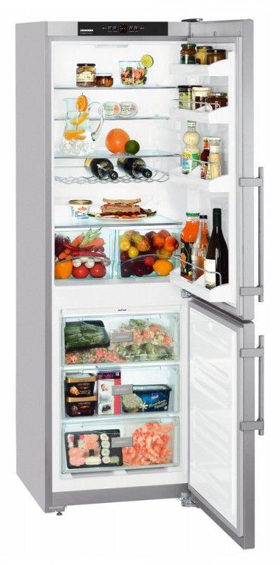 Холодильник LIEBHERR CUNesf 3523,  двухкамерный,  серебристый
