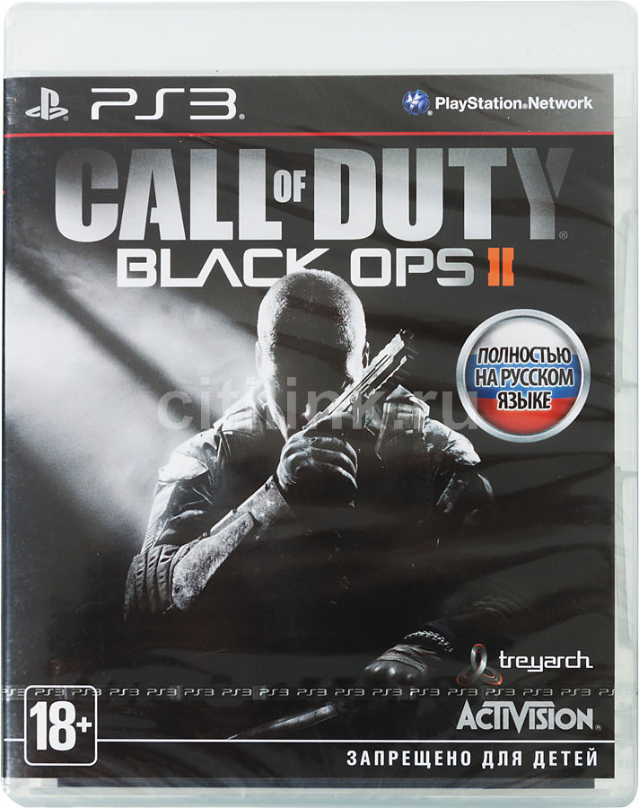 Игра SONY Call of Duty: Black Ops II для  PlayStation3 Rus