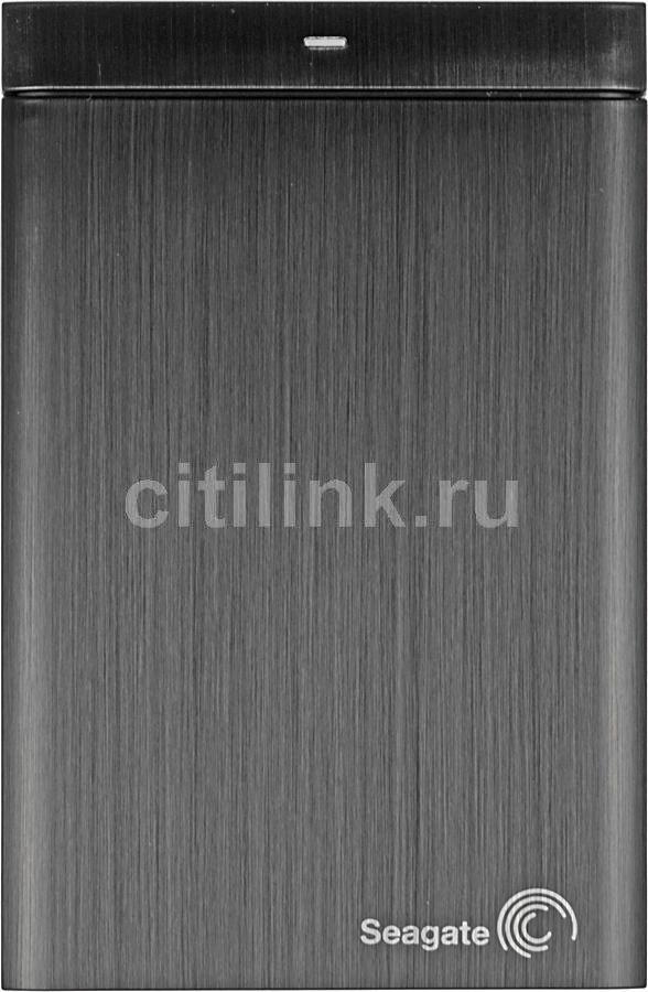 Внешний жесткий диск SEAGATE Backup Plus STBU500200, 500Гб, черный