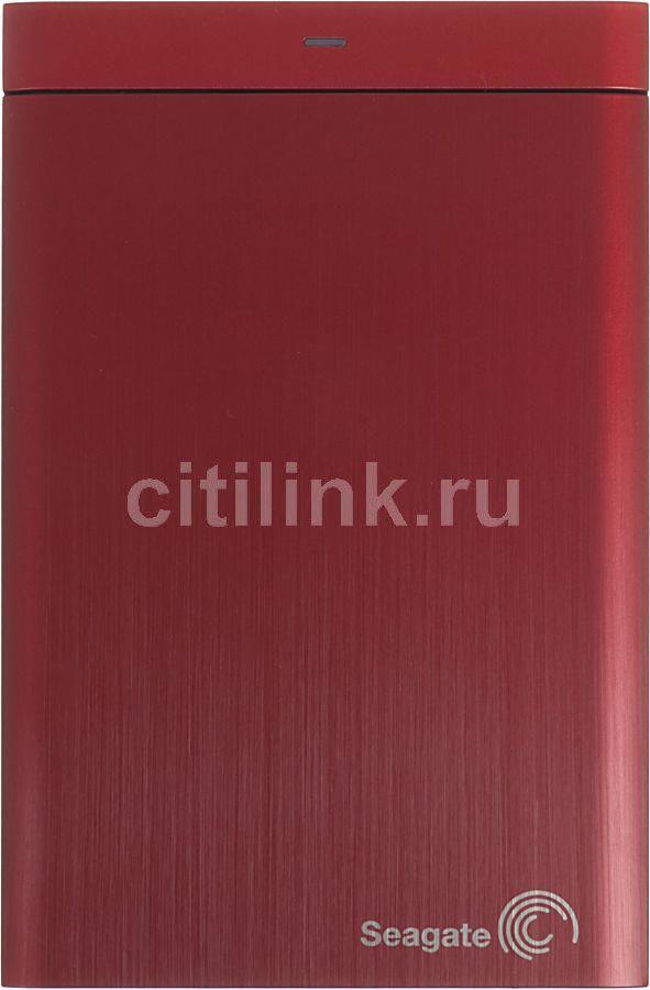 Внешний жесткий диск SEAGATE Backup Plus STBU500203, 500Гб, красный