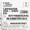 Принтер лазерный CANON i-SENSYS LBP6020B лазерный, цвет:  черный [6374b002] вид 11