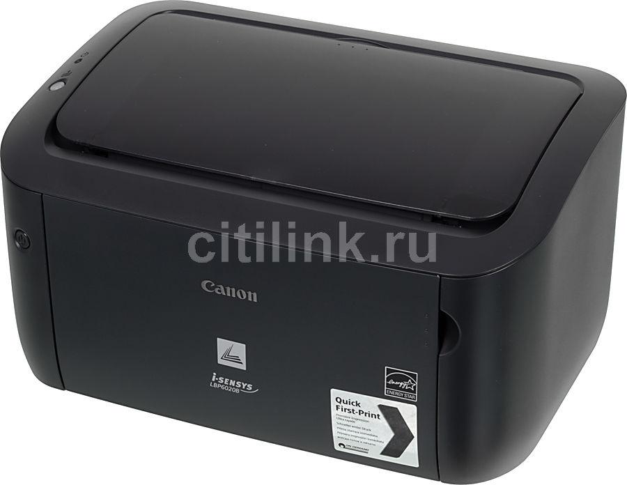 Принтер лазерный CANON i-SENSYS LBP6020B лазерный, цвет:  черный [6374b002]