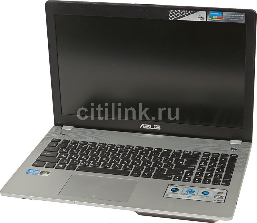 """Ноутбук ASUS N56VJ-S4023H, 15.6"""",  Intel  Core i7  3630QM 2.4ГГц, 8Гб, 1000Гб,  nVidia GeForce  GT 635M - 2048 Мб, Blu-Ray, Windows 8, 90NB0031-M00990,  темно-коричневый"""
