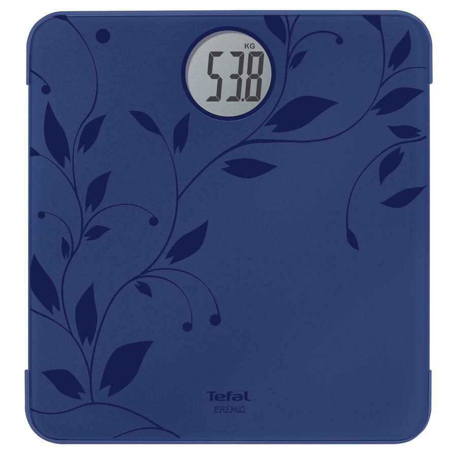 Напольные весы TEFAL PP1212VO, до 160кг, цвет: синий/рисунок [2100071487]