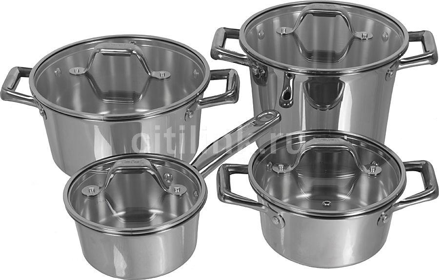 Набор посуды TEFAL Volupty Inox C806S854,  8 предметов