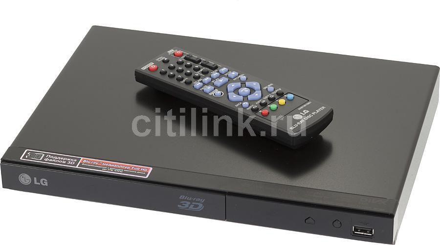 Плеер Blu-ray LG BP325, черный