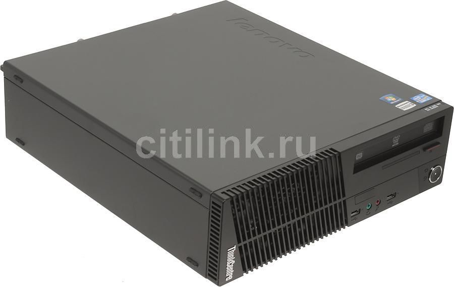 Компьютер  LENOVO ThinkCentre M72e SFF,  Intel  Core i3  2130,  DDR3 4Гб, 1000Гб,  Intel HD Graphics 2000,  DVD-RW,  Windows 7 Professional,  черный [rd3b8ru]