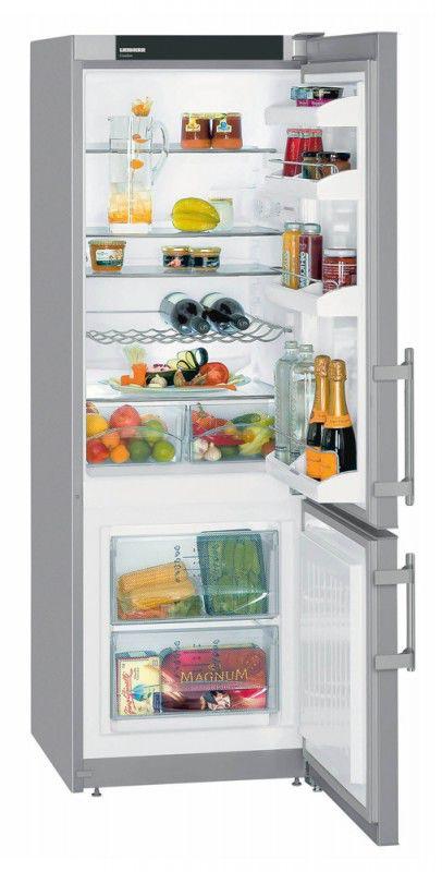 Холодильник LIEBHERR CUPSL 2721,  двухкамерный,  серебристый