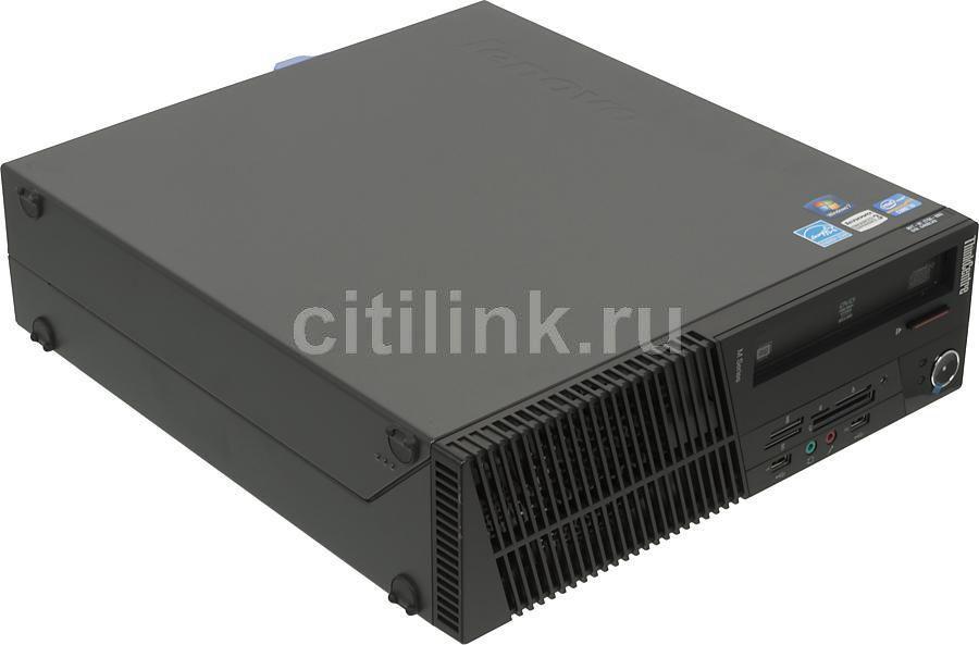 Компьютер  LENOVO ThinkCentre M82 SFF,  Intel  Core i3  2130,  DDR3 4Гб, 500Гб,  Intel HD Graphics 2000,  DVD-RW,  CR,  Windows 7 Professional,  черный [rbjb8ru]